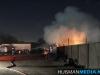 Brand verwoest loods in Stadskanaal