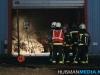 Twee auto's in brand in loods in Winschoten