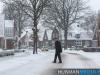 Sneeuwpret in Oost Groningen