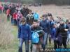 Basisschoolkinderen Wandelen voor Water in Smeerling