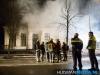 Een huisartsenpraktijk aan de Noorderstraat in Sappemeer heeft zaterdagavond door een felle brand grote schade opgelopen.