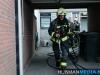 De brand op de zolder van een woning aan de Veemstede in Oude Pekela is ontstaan door een kleine hennepkwekerij. Eén verdachte is aangehouden en is door de politie gehoord.
