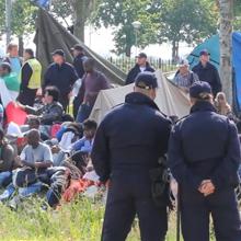 preview nieuwsreportage ontruiming tentenkamp azc ter apel