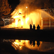 preview nieuwsreportage uitslaande woningbrand nieuwe pekela
