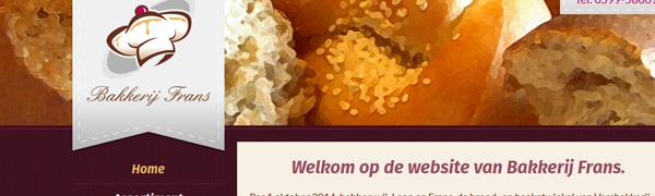 BakkerijFrans.nl