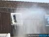 Dinsdagavond-heeft-brand-gewoed-op-een-zolder-van-een-woning-aan-de-Veemstede-in-Oude-Pekela.-De-zolder-raakte-zwaar-beschadigd