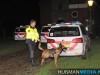 Politie-zoekt-met-hond-op-begraafplaats-in-Oude-Pekela